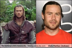 The Huntsman (Chris Hemsworth) Totally Looks Like Chris Pontius (Jackass)