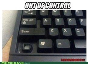I lost control