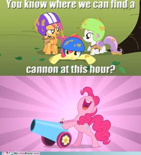 Always Ask Pinkie Pie
