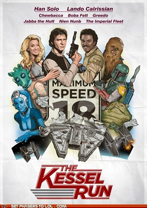 Star Wars - The Kessel Run