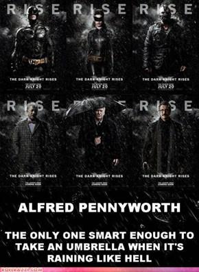 Alfred Always Plans Ahead