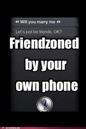 Friendzone Level Siri