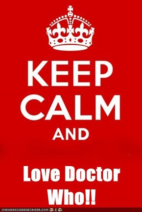 Love Doctor Who!!