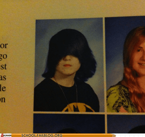 Yearbook Club: Oh God It's Little Darth Vader!