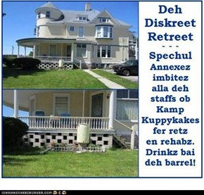 Diskreet Retreetz Annexez noaw open!