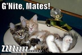 G'Nite, Mates!  ZZZZzzzz........