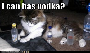 i can has vodka?