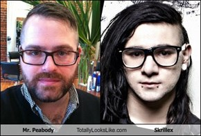 Mr. Peabody Totally Looks Like Skrillex