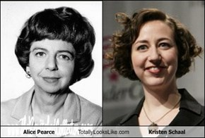 Alice Pearce Totally Looks Like Kristen Schaal