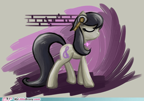 Octavia on a stroll