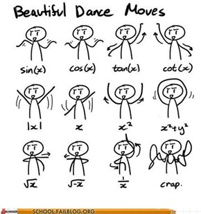 Dance Math 101: You Best Know Your Moves