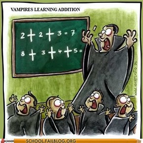 Vampires Should Stick With Multi-Variable Calculus