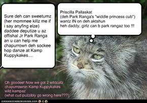 Priscilla Pallaskat (Park Ranga'z Widdle Girl) Haz Noze Owt Ov Joint