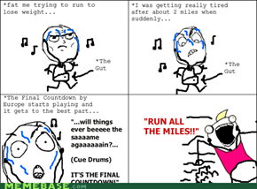 Then the song ended...and I collapsed
