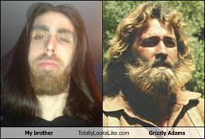 My brother Totally Looks Like Grizzly Adams