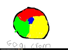 My Hand Drawn Google Chrome Logo