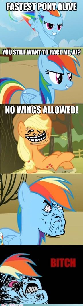 Curse you Applejack!