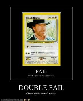DOUBLE FAIL
