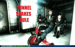 Tunnel Snakes Have Swagger