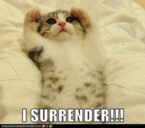 I SURRENDER!!!