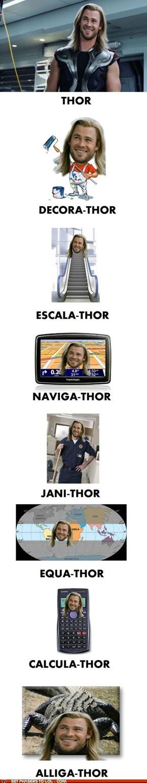 Thor's Many Jobs