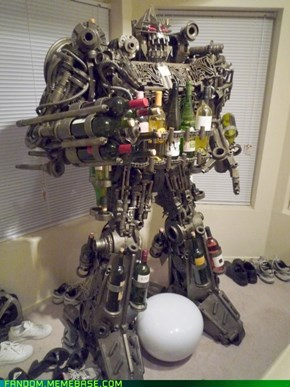 Transformers: Wine Racks in Disguise