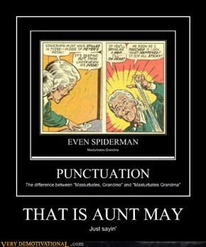 THAT IS AUNT MAY