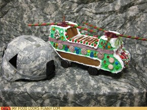 Gingerbread CH-47