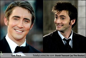 Lee Pace Totally Looks Like David Tennant (as The Doctor)