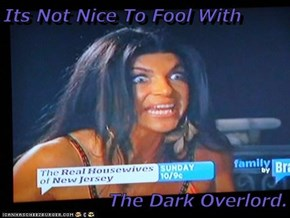 Its Not Nice To Fool With  The Dark Overlord.