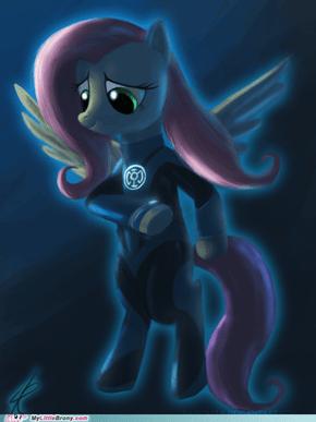 Blue Lantern FlutterShy