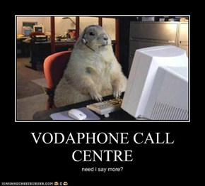VODAPHONE CALL CENTRE