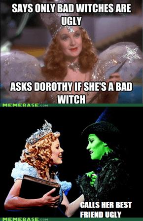 Scum bag Glinda