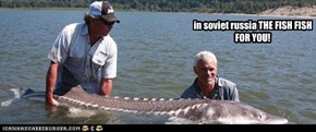In this wekk episode of river monsters... in russia