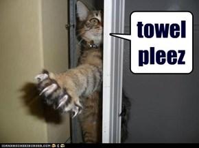 towel pleez
