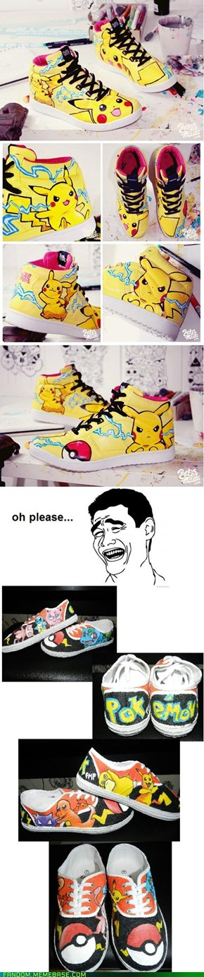 Pikashoes VS Pokepumps