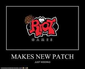 MAKES NEW PATCH