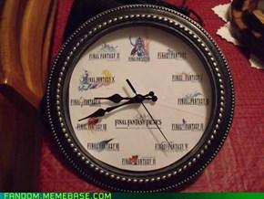 Final Fantasy o'clock