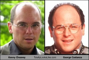 Kenny Chesney Totally Looks Like George Costanza