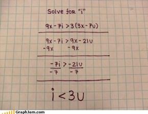 """Solve for """"i"""""""