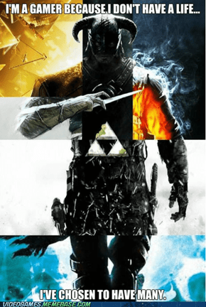 A Gamer's Life(ves)