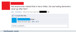 Failbook: Then Why Did He Have a Patronus?