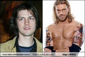 Trevor Moore (Whitest Kids U Know) Totally Looks Like Edge (WWE)