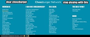 dear cheezburger