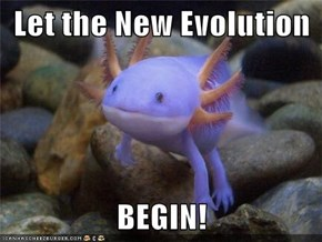 Let the New Evolution  BEGIN!
