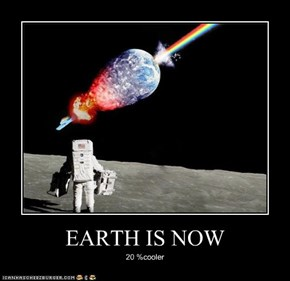 EARTH IS NOW