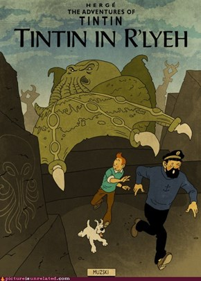 Tintin vs. Lovecraft