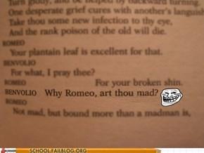Shakespearean Trolling is the Best Kind of Trolling
