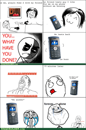 Forever Alone on the Phone