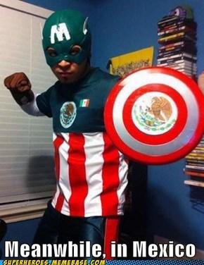 Capitan Mexico: El Primer Vengador
